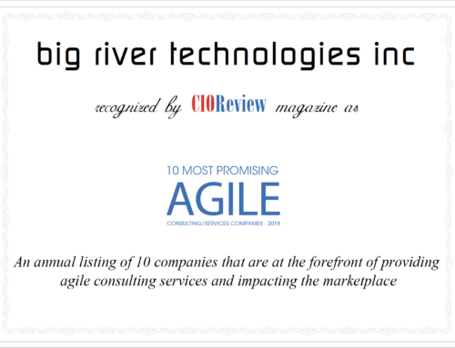 big river tech – 10 Most Promising Agile Consulting/Services Companies – 2018